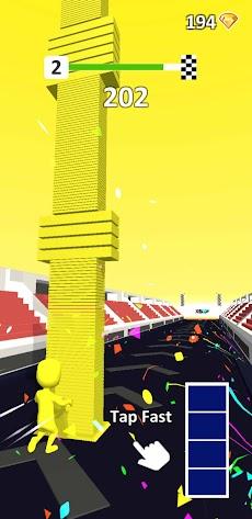 Color Pillar: Satisfying & Smooth Free Gameのおすすめ画像2