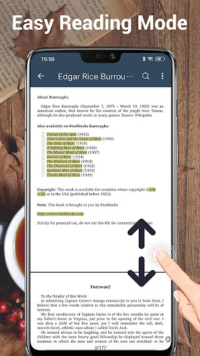 EBook Reader & PDF Reader 1.8.7.0 Screenshots 5