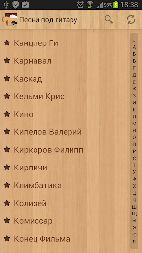 u041fu0435u0441u043du0438 u043fu043eu0434 u0433u0438u0442u0430u0440u0443 Rus 7.4.12 rus screenshots 1