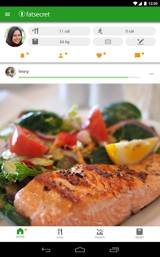 Calorie Counter by FatSecret android2mod screenshots 8