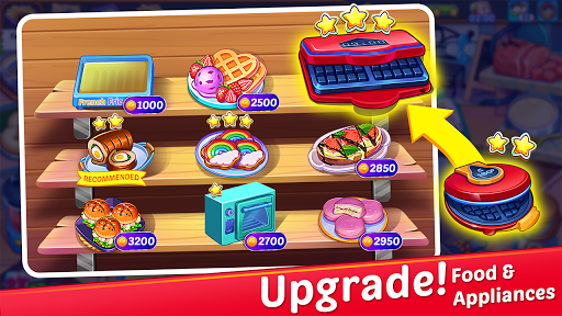 Cooking Express : Food Fever Cooking Chef Games screenshots 2