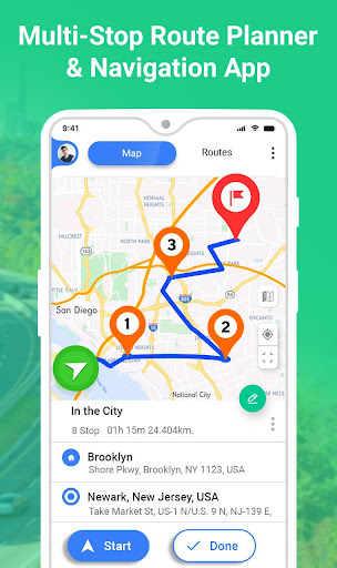 GPS Route Planner 1.3.5 Screenshots 1