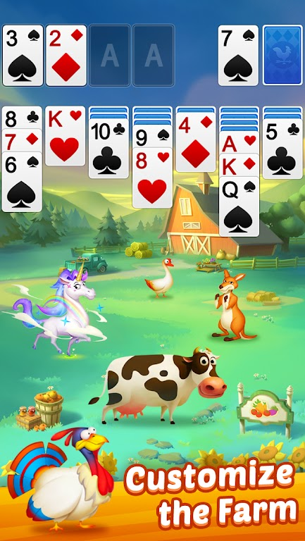Solitaire - My Farm Friends poster 13