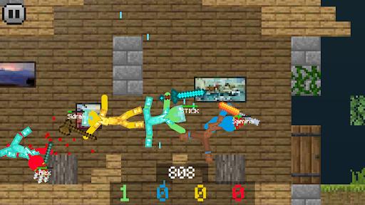 Stickman vs Multicraft: Ragdoll Fight screenshots 1
