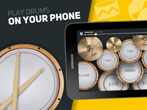 SUPER DRUM - Play Drum! android2mod screenshots 6