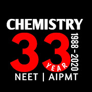 CHEMISTRY - 33 YEAR NEET PAST PAPER WITH SOLUTION