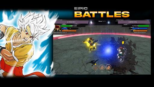 Burst To Power - Anime fighting action RPG  screenshots 5