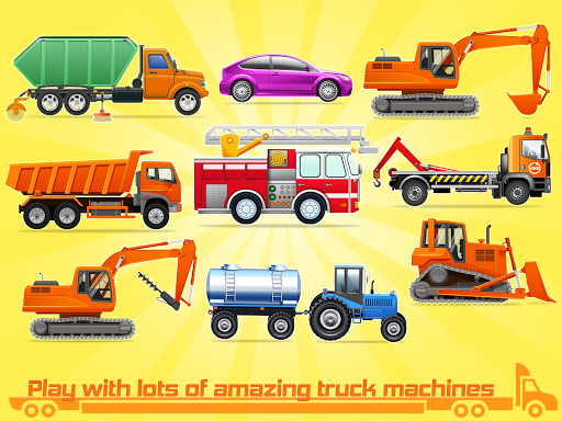 Kids Truck Games: Car Wash & Road Adventure android2mod screenshots 16
