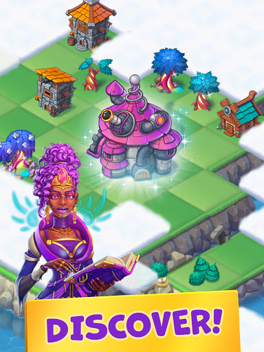Mergest Kingdom: Merge Puzzle apkpoly screenshots 17