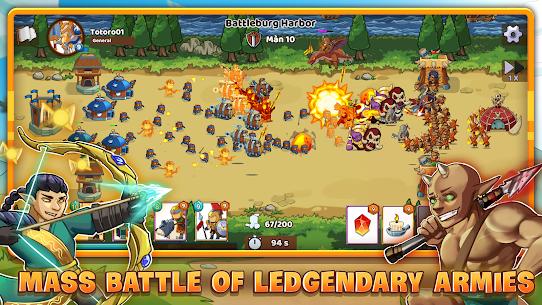 Mega War – Clash of Legions Mod Apk 1.604 (Unlimited Gold/Diamonds) 8
