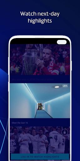 UEFA Champions League football: live scores & news 2.90.4 Screenshots 4
