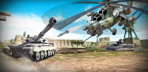 Screenshot of Massive Warfare: Gunship Helicopter vs Tank Battle