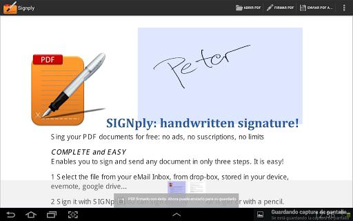 Handwritten PDF e-signatures screenshots 1