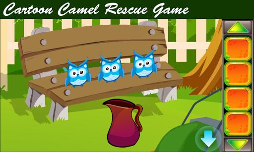 best escape game - cartoon camel rescue game screenshot 1