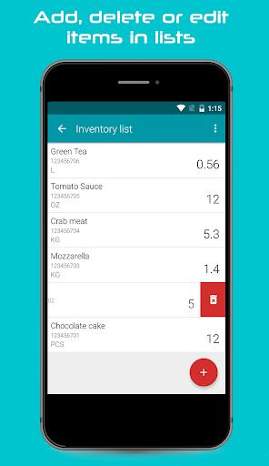 Mobile Inventory FREE screenshots 2