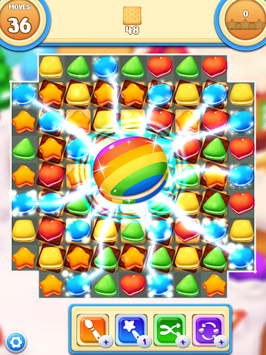 Cookie Macaron Pop : Sweet Match 3 Puzzle 1.5.4 screenshots 10