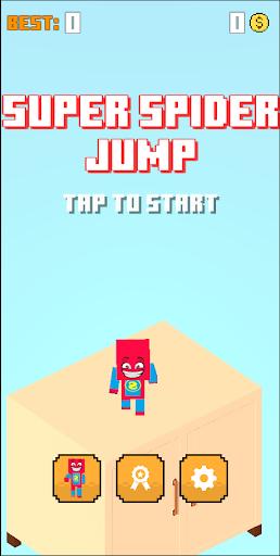 CubeCraft Super Spider Jump screenshots 1