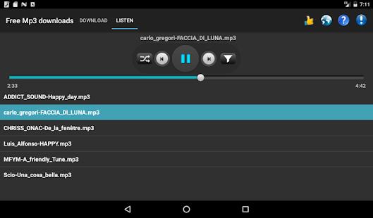 Free Mp3 Downloads 7.0.1 Screenshots 8