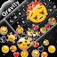 Sad Emojis Gravity Keyboard Background