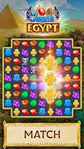 Jewels of Egypt: Gems & Jewels Match-3 Puzzle Game 1.16.1602 (Mod Money)