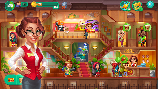 Grand Hotel Mania – Hotel Adventure Game Screenshot