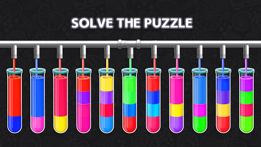 Color Water Sort Puzzle: Liquid Sort It 3D apktram screenshots 8