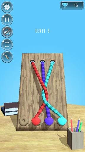 Rope Knots Untangle Master 3D - Rope Untie Games  apktcs 1