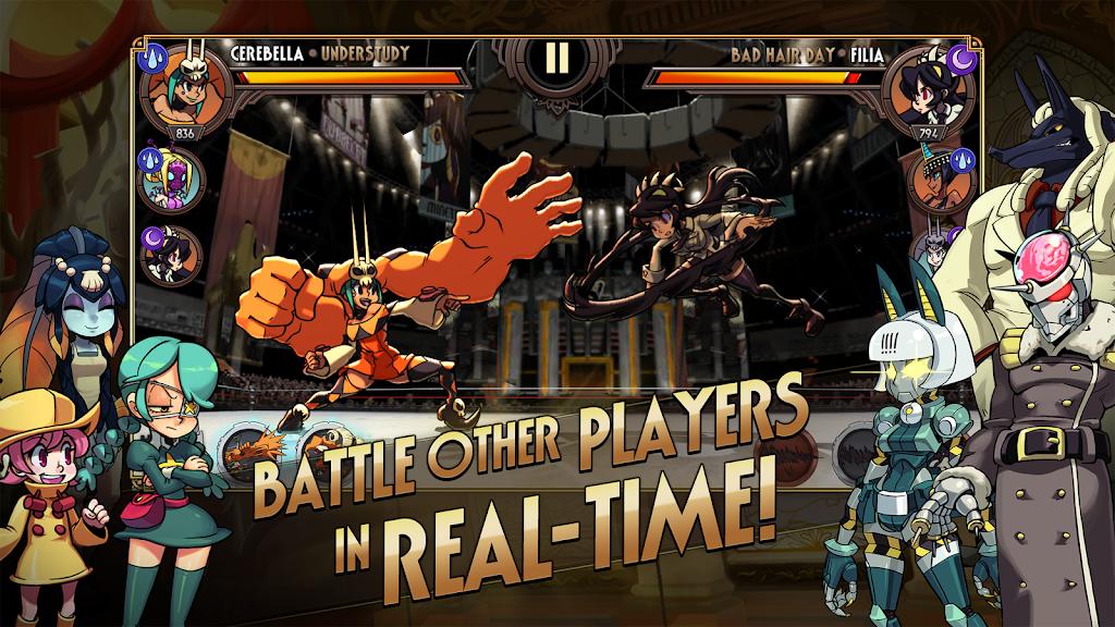 Skullgirls: Fighting RPG  poster 1