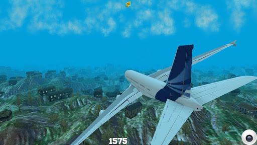 jet airplane fly sky simulator screenshot 2
