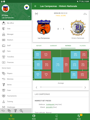 Hattrick Football Manager Game 4.11.3 screenshots 14