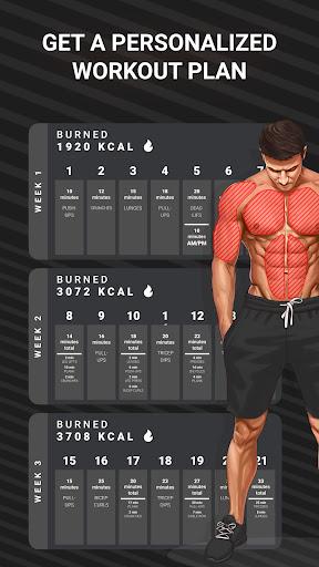 Workout Planner by Muscle Booster apktram screenshots 2