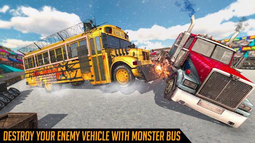 Monster Bus Derby - Bus Demolition Derby 2021 2.8 screenshots 1