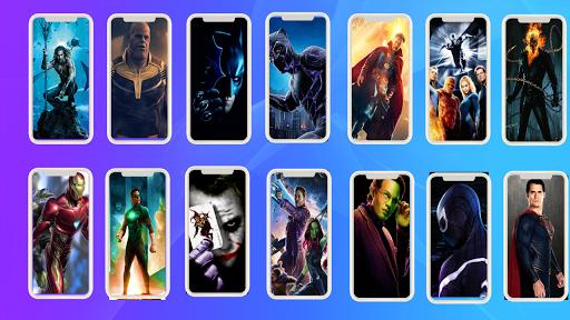 4k superhero wallpaper screenshot 3