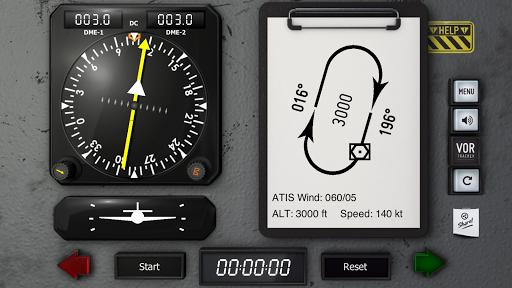 VOR Tracker - IFR Trainer Navigation Simulator Pro  screenshots 2