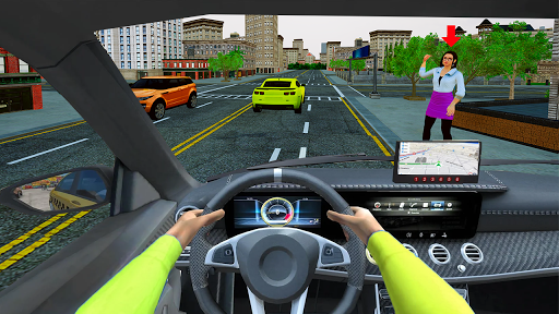 Grand Taxi Simulator : Modern Taxi Games 2020  screenshots 4