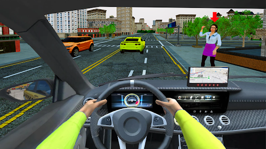 Grand Taxi Simulator APK MOD HACK (Dinero Infinito) 4