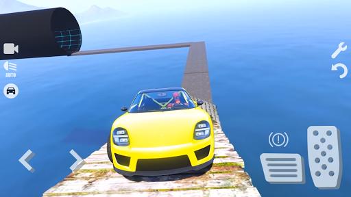 Spider Superhero Car Games: Car Driving Simulator apktram screenshots 3