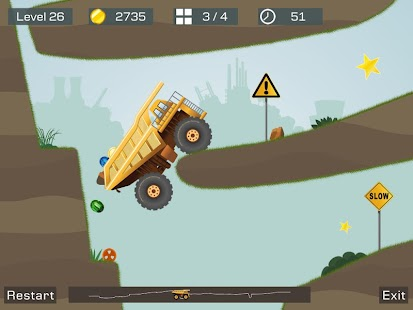 Big Truck --best mine truck express simulator game Screenshot