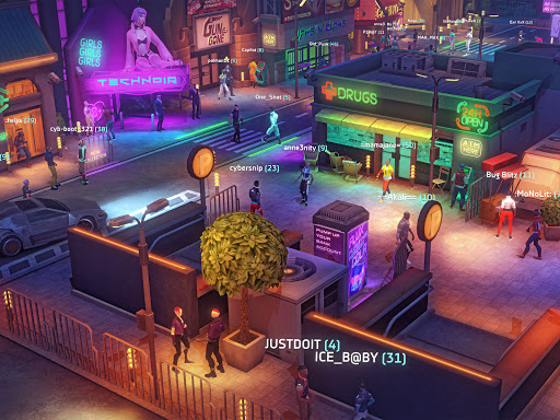 Cyberika: Action Adventure Cyberpunk RPG 1.0.0-rc326 screenshots 11
