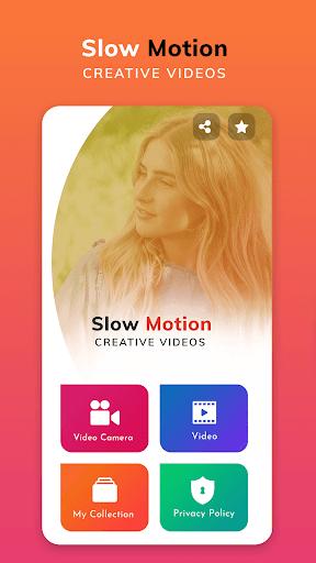 slow motion video maker: fast & slow motion editor screenshot 1
