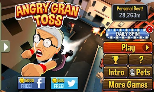 Angry Gran Toss 1.2.6 APK Mod for Android 1