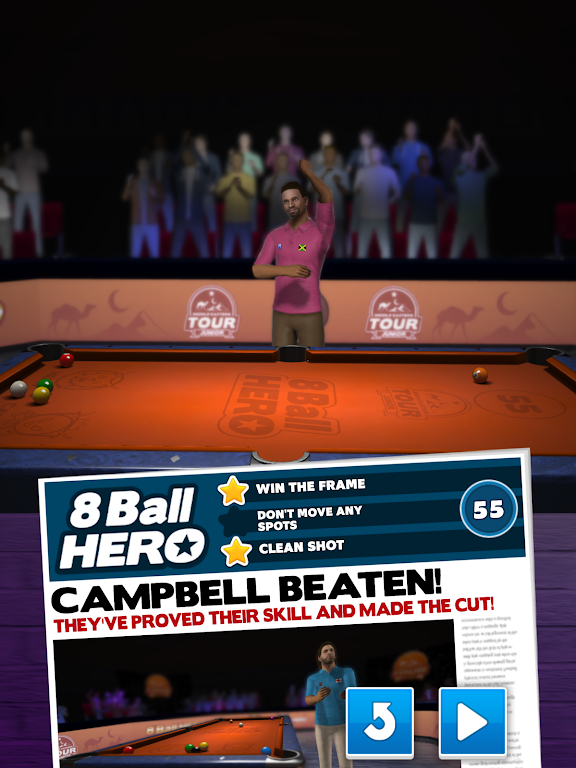 8 Ball Hero - Pool Billiards Puzzle Game  poster 9