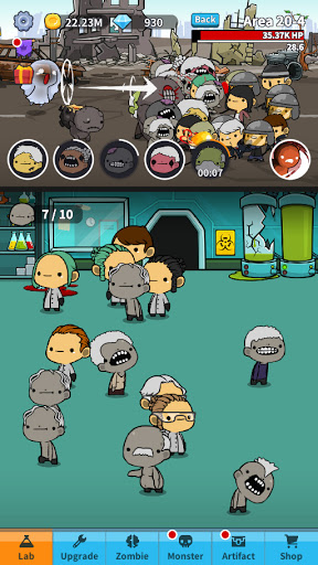Happy Zombie Virus: Idle Merge Game 1.12 screenshots 10
