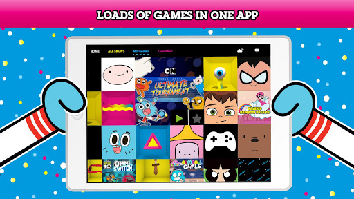 Cartoon Network Gamebox Free Games Every Month App Store Data Revenue Download Estimates On Play Store