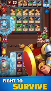 Difesa con carte casuali: Arena di battaglia
