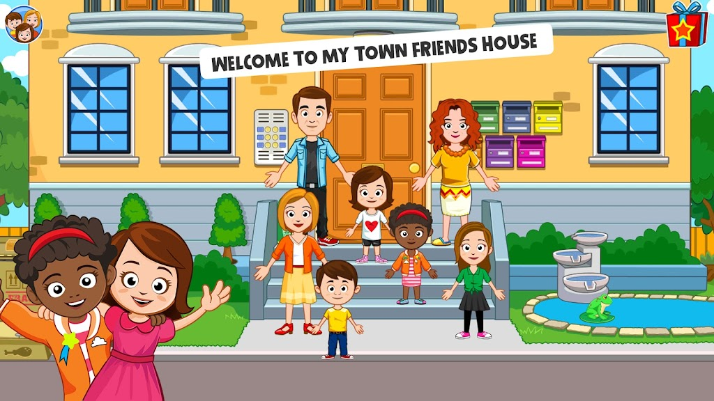 My Town : Best Friends' House games for kids poster 8