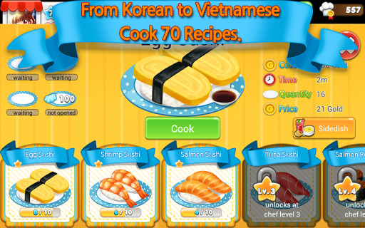 Hello Seafood 2 for Kakao modiapk screenshots 1