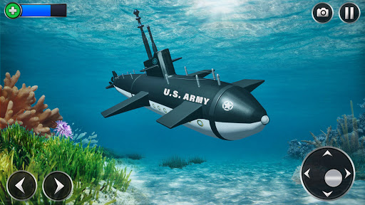 US Army Submarine Driving Military Transport Game screenshots 10