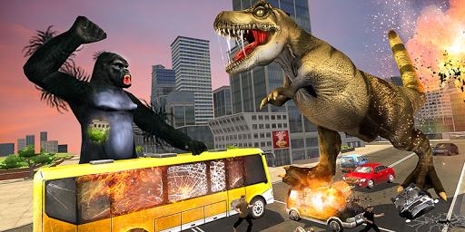 Monster Dino Vs King Kong-City Rampage Simulator 1.0.3 screenshots 10