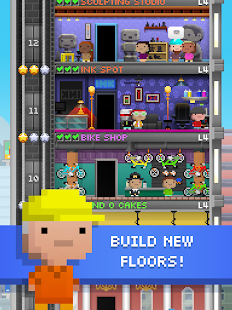 Tiny Tower - 8 Bit Life Simulator Screenshot
